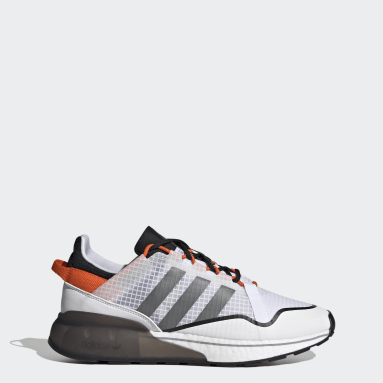 Men's Originals White ZX 2K Boost Pure Shoes