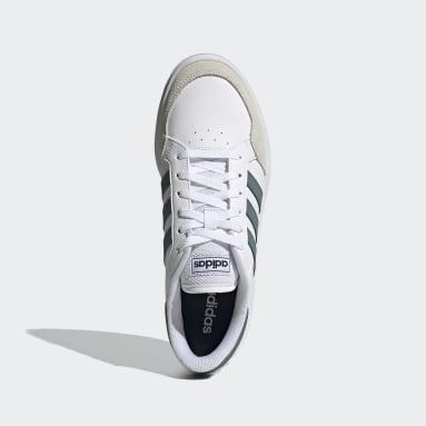 Tennis Wit Breaknet Schoenen