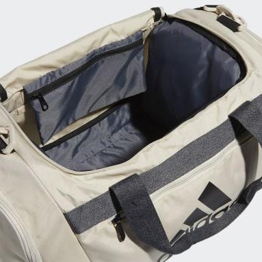 Training Beige Defender Duffel Bag Small
