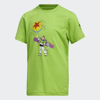 Kids Basketball Green Buzz x Luxo Basketball Short Sleeve Tee