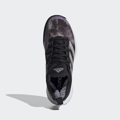 Women's Tennis Black Defiant Generation Multicourt Tennis Shoes