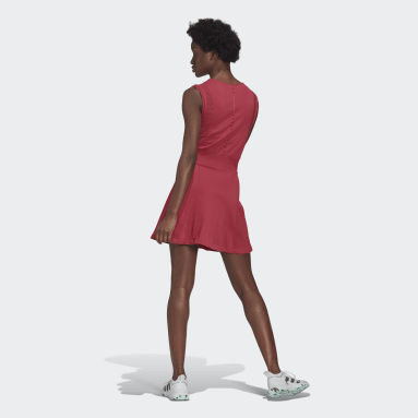 Women Tennis Pink Primeblue Primeknit Tennis Dress