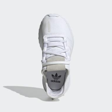 Kids 4-8 Years Originals White U_Path Run Shoes