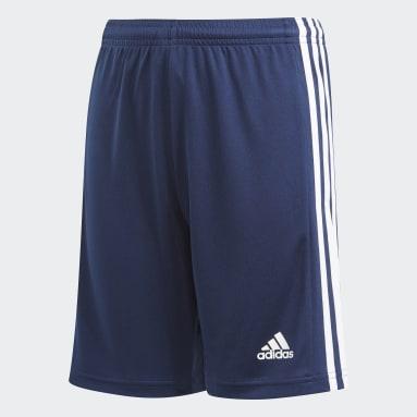 Short Squadra 21 Blu Ragazzo Calcio