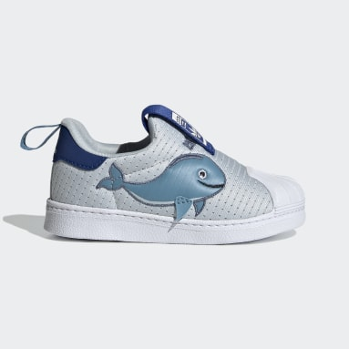 Kids Originals Blue Superstar 360 Primeblue Shoes