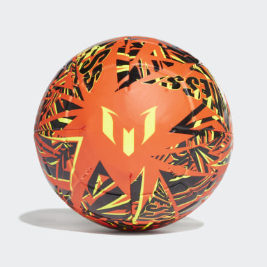 Männer Fußball Messi Club Ball Orange