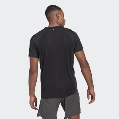 Men's Running Black HEAT.RDY Running Tee