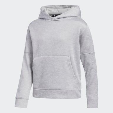 Children Training Grey Team Issue Pullover Hoodie