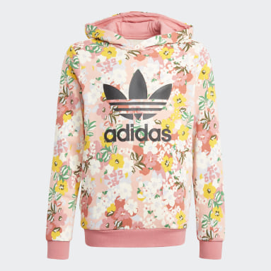 Youth 8-16 Years Originals Pink HER Studio London Floral Hoodie
