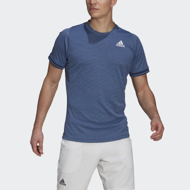 Men's Tennis Blue Tennis Freelift Tee