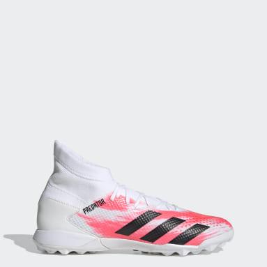 Zapatos de fútbol Predator 20.3 Pasto Sintético Blanco Fútbol