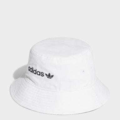Originals Stoffhut Weiß