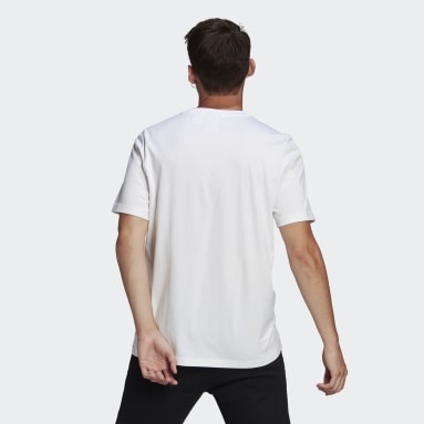 Men Originals White Fruit Badge Tee