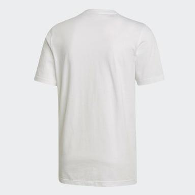 Camiseta Trefoil Blanco Hombre Originals