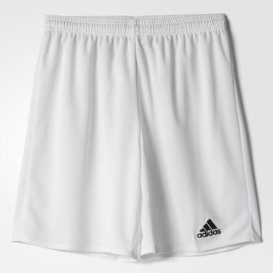 Short Parma 16 Blanc Garçons Fitness Et Training