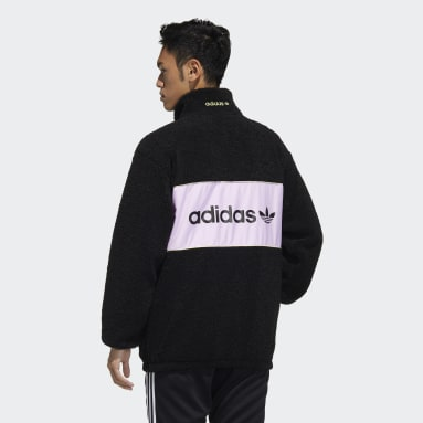 Men Originals Black adidas Adventure Sherpa Jacket