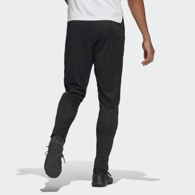 Tiro Reflective Wording Track Pants Czerń