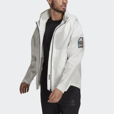 Men City Outdoor White MYSHELTER Parley RAIN.RDY Jacket