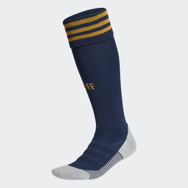 Men Football Blue Spain Home Socks