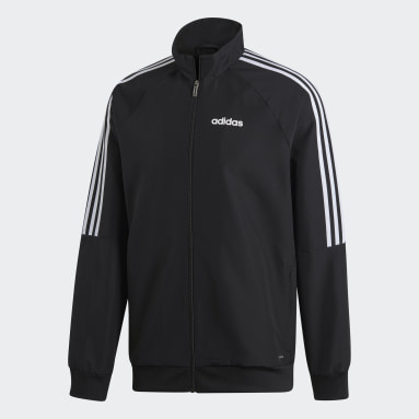Men Football Black Sereno 19 Presentation Jacket