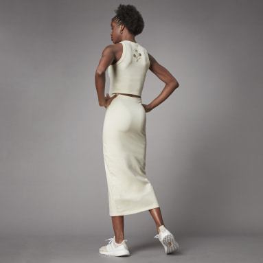 Women Lifestyle White Terra Love Organic Cotton Dress