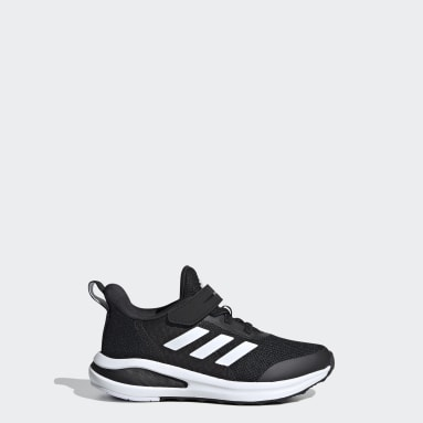 Çocuklar Koşu Siyah FortaRun 2020 Koşu Ayakkabısı