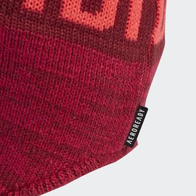 Bonnet péruvien rouge Enfants Entraînement