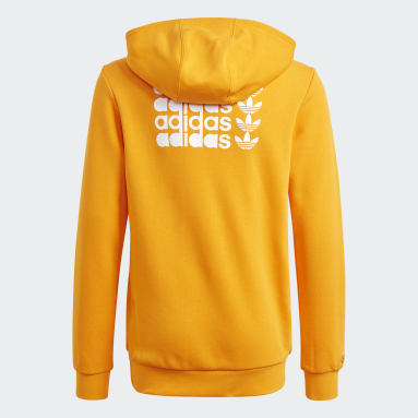 Boys Originals Orange Graphic Hoodie