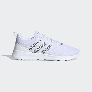 Women's Essentials White QT Racer 2.0 Shoes