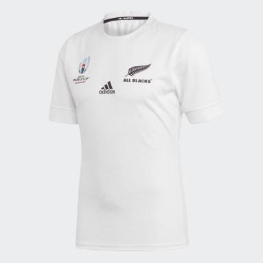 Muži Y-3 bílá Venkovní dres All Blacks Rugby World Cup Y-3