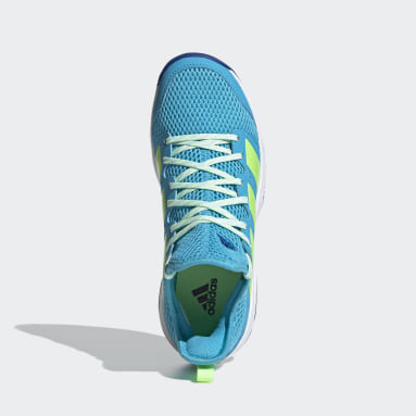 Kids Netball Turquoise Stabil Indoor Shoes