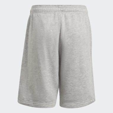 เด็กผู้ชาย ไลฟ์สไตล์ สีเทา กางเกงขาสั้น adidas Essentials