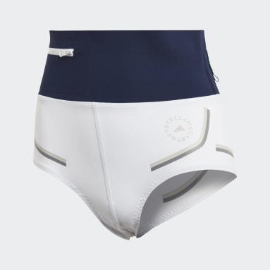 Women adidas by Stella McCartney White adidas by Stella McCartney BeachDefender Bikini Bottoms