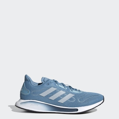 Women Running Blue Galaxar Run Shoes