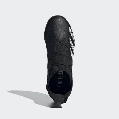 Kids 4-8 Years Futsal Black Predator Freak.3 Indoor Boots