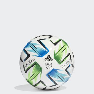 Men Soccer White MLS Nativo XXV Mini Ball