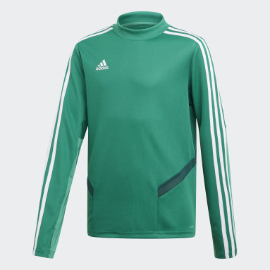 Kinderen Fitness En Training Groen Tiro 19 Training Sweater