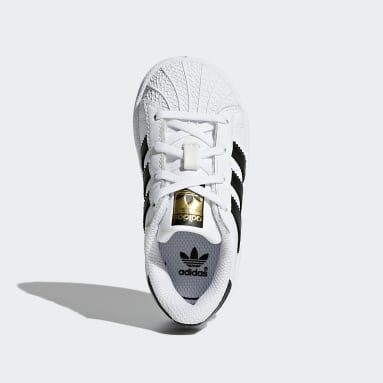 Infant Originals White Superstar Shoes