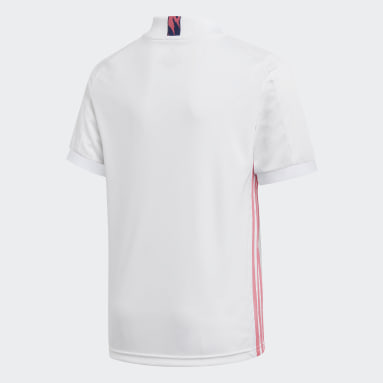 Camiseta Local Real Madrid 20/21 Blanco Niño Fútbol
