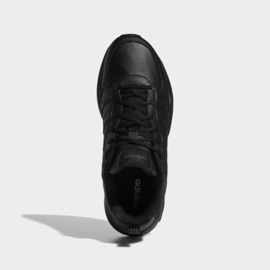 Erkek Sport Inspired Siyah Strutter Ayakkabı