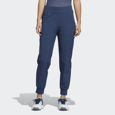 Women's Golf Blue Stretch Jogger Pants