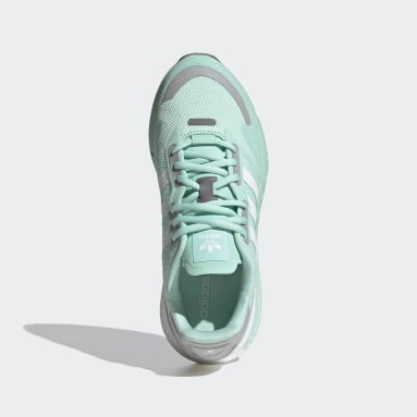 Women Originals Turquoise ZX 1K Boost Shoes