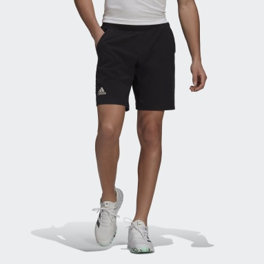 Men's Tennis Black Ergo Tennis Shorts