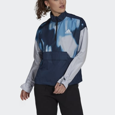 Women's Hiking Blue Back to Sport WIND.RDY Anorak
