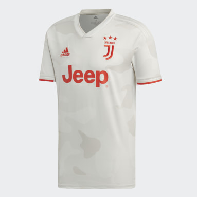 Men Football White Juventus Away Jersey