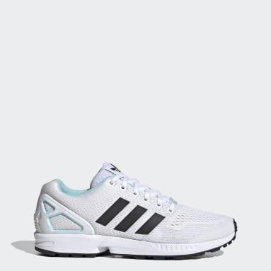 Sapatos ZX Flux Branco Mulher Originals