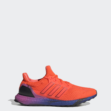 Running Orange Ultraboost DNA Shoes
