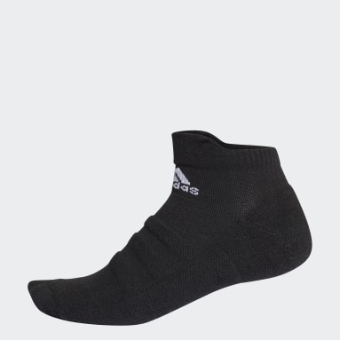 Running Black Alphaskin Lightweight Cushioning Ankle Socks