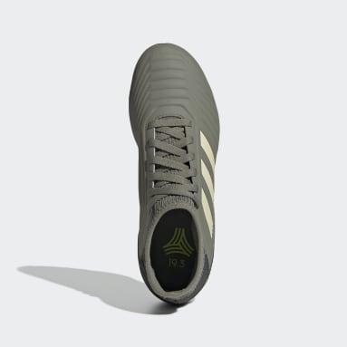 Zapatilla de fútbol Predator Tango 19.3 moqueta Verde Niño Fútbol