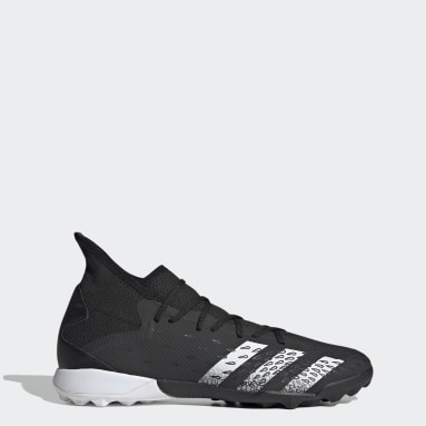 Men Soccer Black Predator Freak.3 Turf Shoes